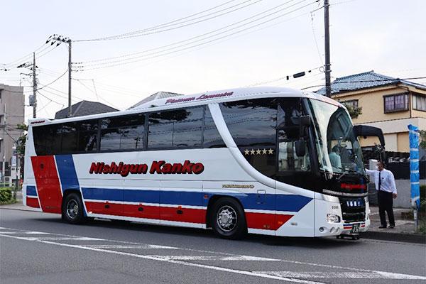 バス会社の感染症対策(西郡観光バス編)